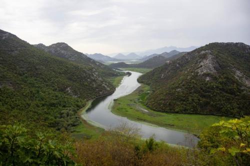 Der Skadar-See im Süden von Montenegro ist ein Naturjuwel und erstreckt sich bis Albanien.