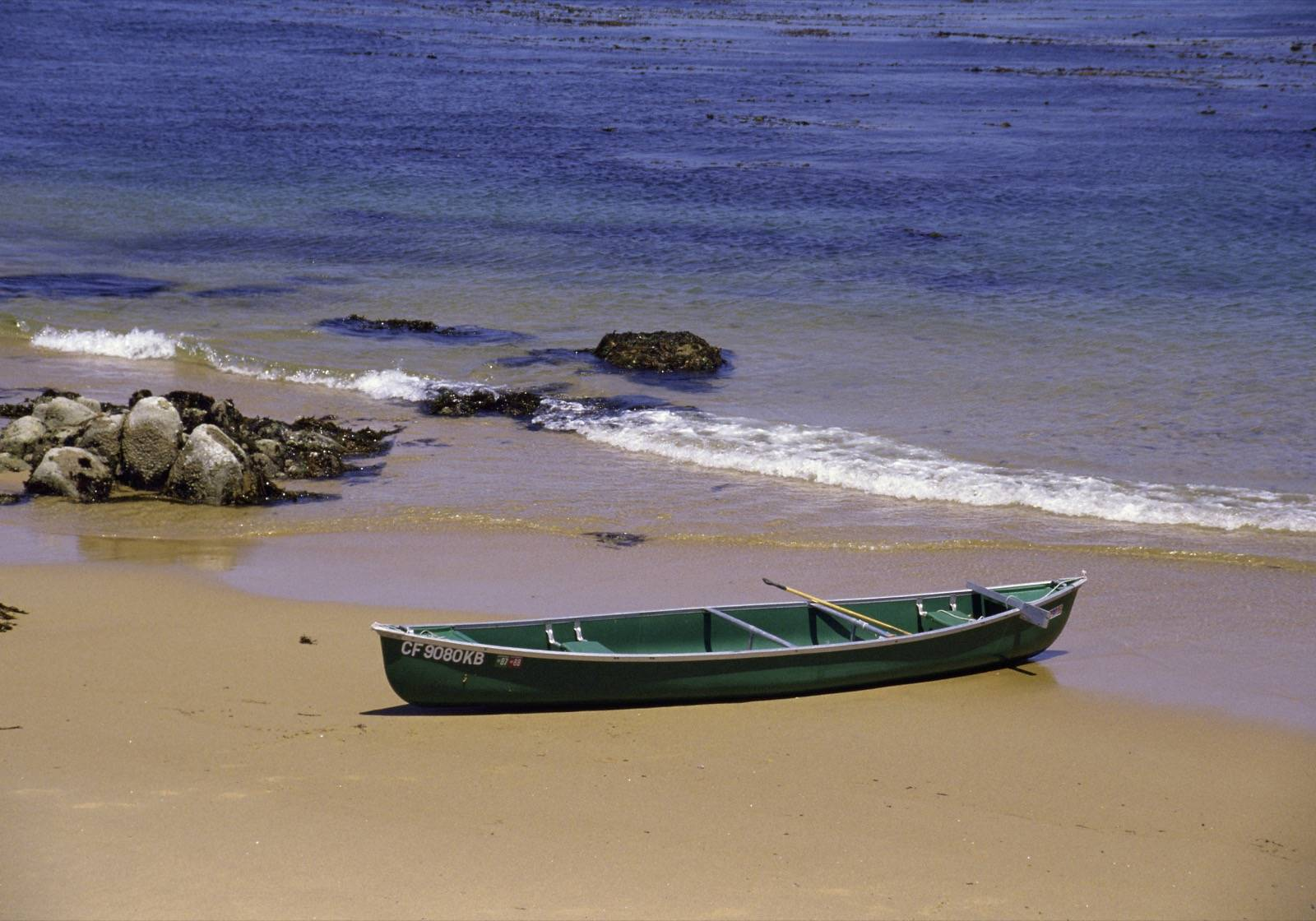 Einsames Boot