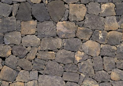 Steinmauerstrukturen