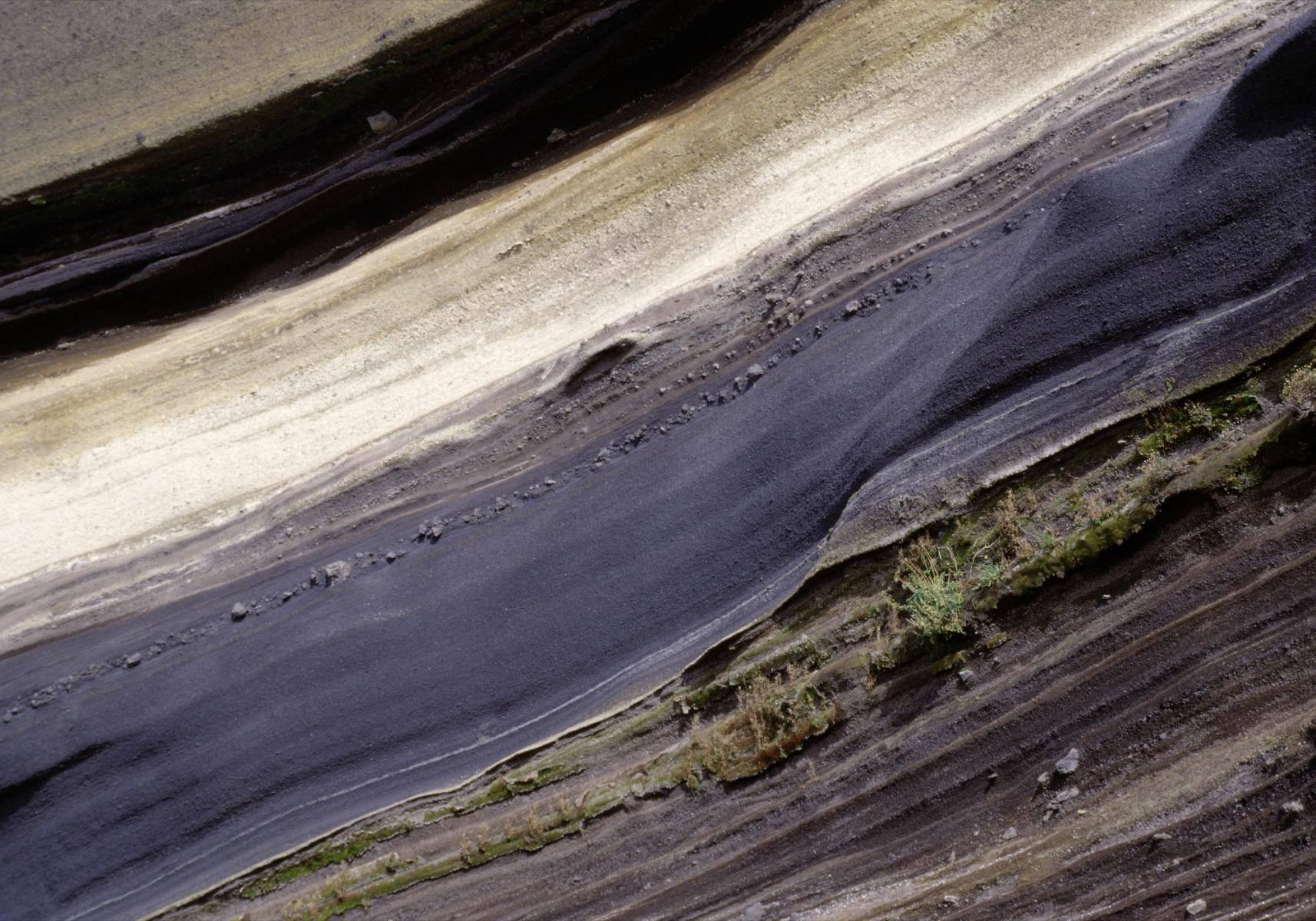 Vulkangestein/Steinschichten