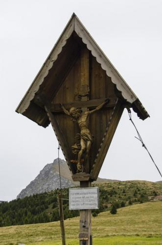 Wegkreuz Nähe Hafling bei Meran in Südtirol,Italien