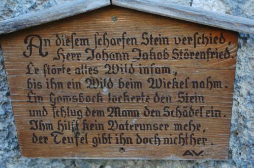 Marterl unterm Hennenkopf, von den Brunnenkopf Häusern über Hennenkopf zum Pürschling, Bayern