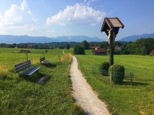 Wegkreuz Nähe Seehausen, Bayern