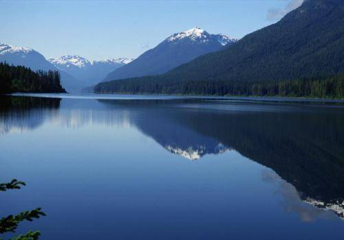 See im Strathcona Park auf Vancouver Island