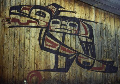 Indianische Kunstwerke, Ksan Indian Village