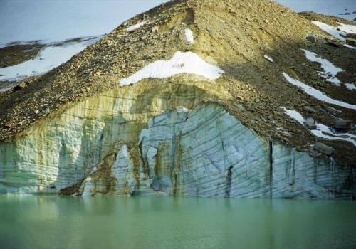 Edit Cavell Gletscher