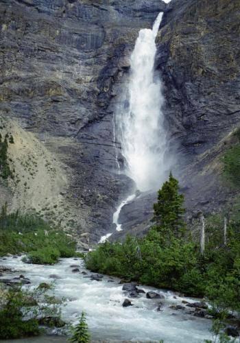 Takakkaw Falls im Yoho Nationalpark
