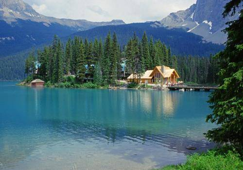 Emerald Lake im Yoho Nationalpark