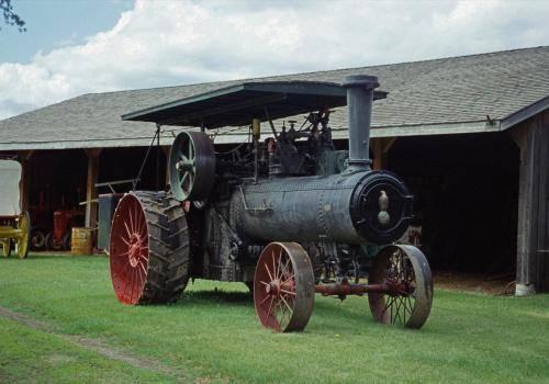 Oldtimer Dampftraktor