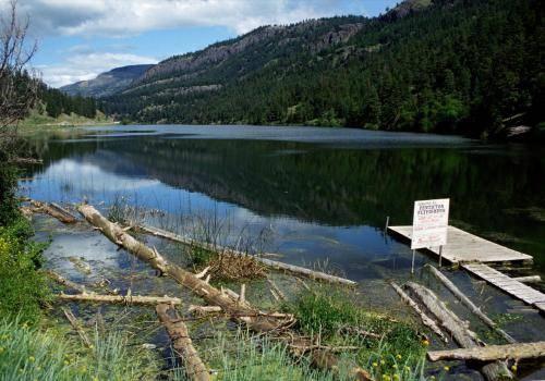 Feuchtgebiete im Süden von Kanada