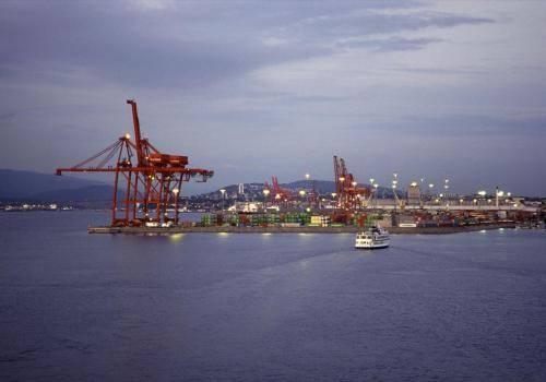 Hafenanlage von Vancouver