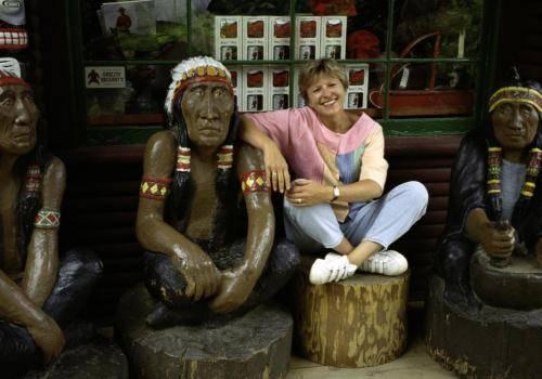 Touristenattraktion im Capilano Park