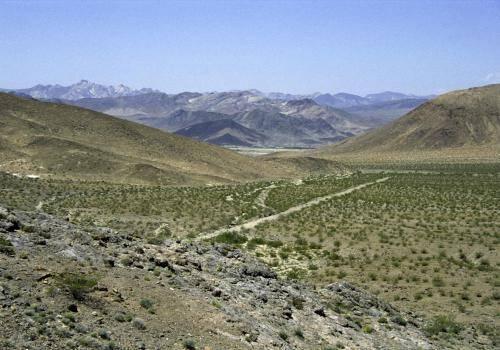 Wüstenlandschaft in der Nähe von Palm Springs