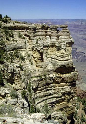 Aussichtsplattform am Grand Canyon