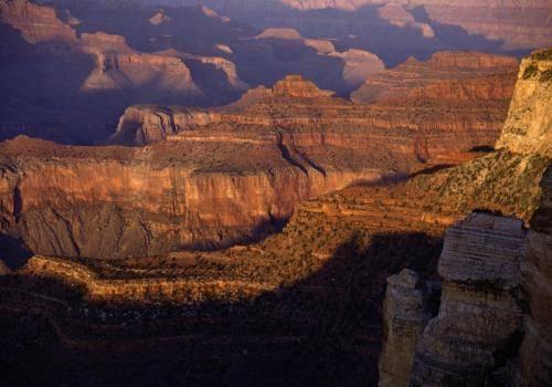 Abendlichtstimmung im Grand Canyon