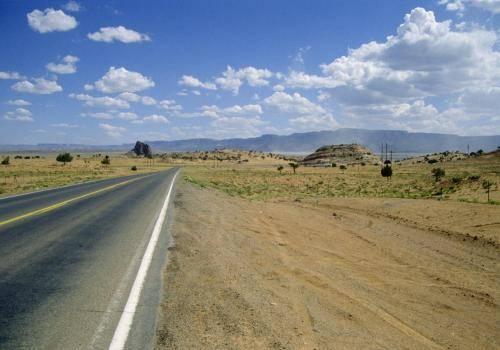 Endloser Highway in Arizona/USA