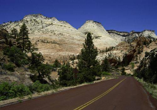 Highway durch den Zion National Park