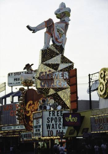 Reklametafeln in Las Vegas