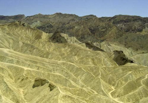 Wüstenartige Landschaft