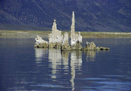 Tuffsteingebilde im Mono Lake