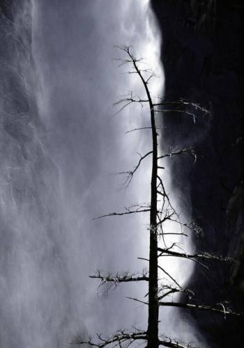 Schleierwasserfall im Yosemite Nationalpark, Kalifornien, USA