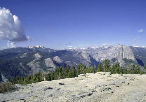 Aussichtspunkt im Yosemite Nationalpark