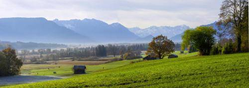 Blick in das Losachtal im Werdenfelser Land
