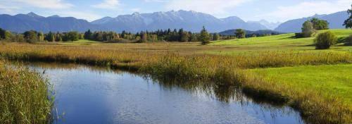 Die Ach (Abfluss vom Staffelsee)