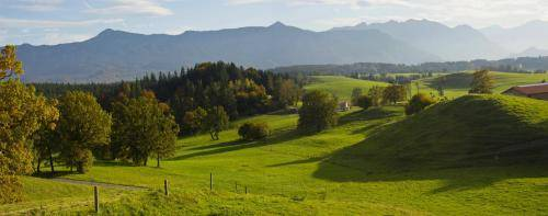 Vorgebirgslandschaft bei Murnau am Riegsee