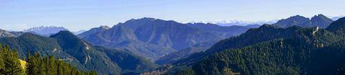 Panoramablick vom Wallberg