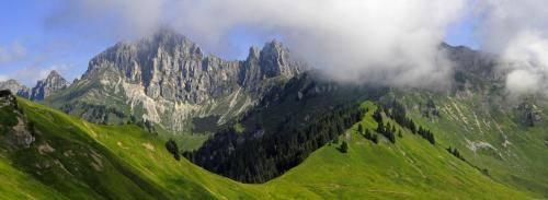 Die Tannheimer Gruppe in den Allgäuer Alpen