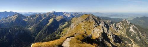Panoramablick von der Klammspitz