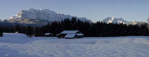 Wintermärchen Nähe Mittenwald