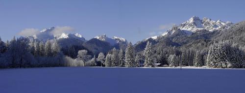 Ammergauer Alpen im Winter