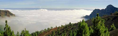 Kraterberge auf Teneriffa im Teide Nationalpark
