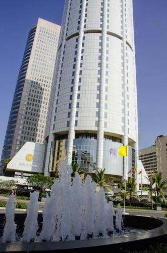Hochhäuser und Hotels in Colombo, Sri Lanka
