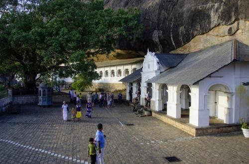 Der Höhlentempel in Dambulla, Sri Lanka