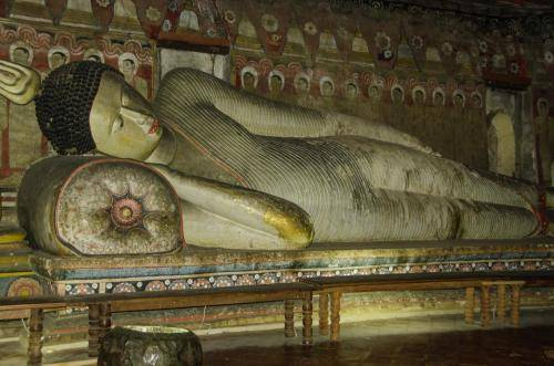 Liegender Buddha, Sri Lanka