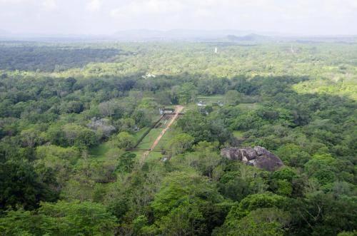 Blick vom Gipfel des Löwenfelsen, Sri Lanka