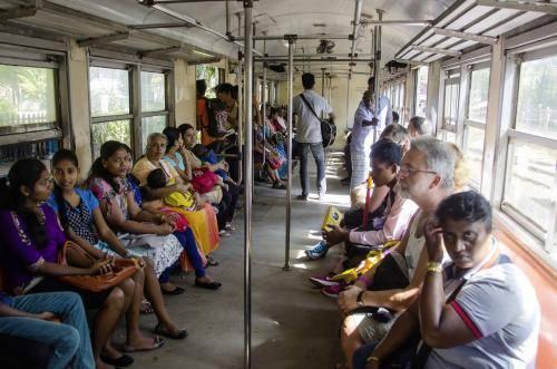 Personenbeförderung in Sri Lanka mit der Eisenbahn