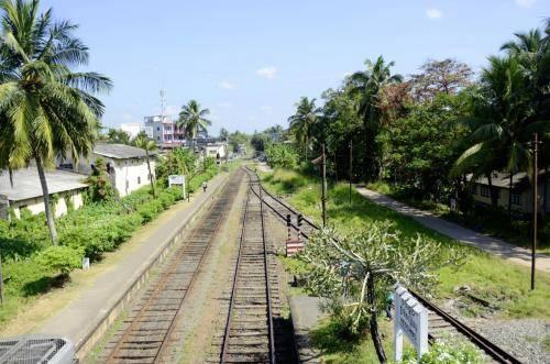 Eisenbahnschienenverkehr in Sri Lanka