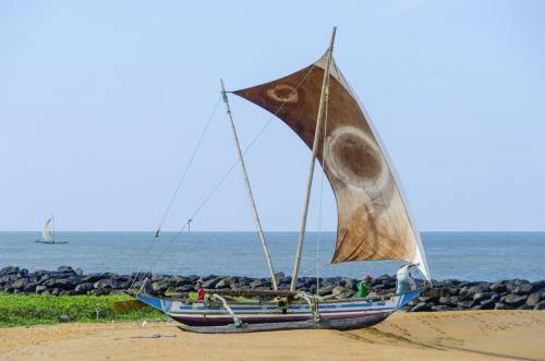 Proa-Segeln in Sri Lanka;