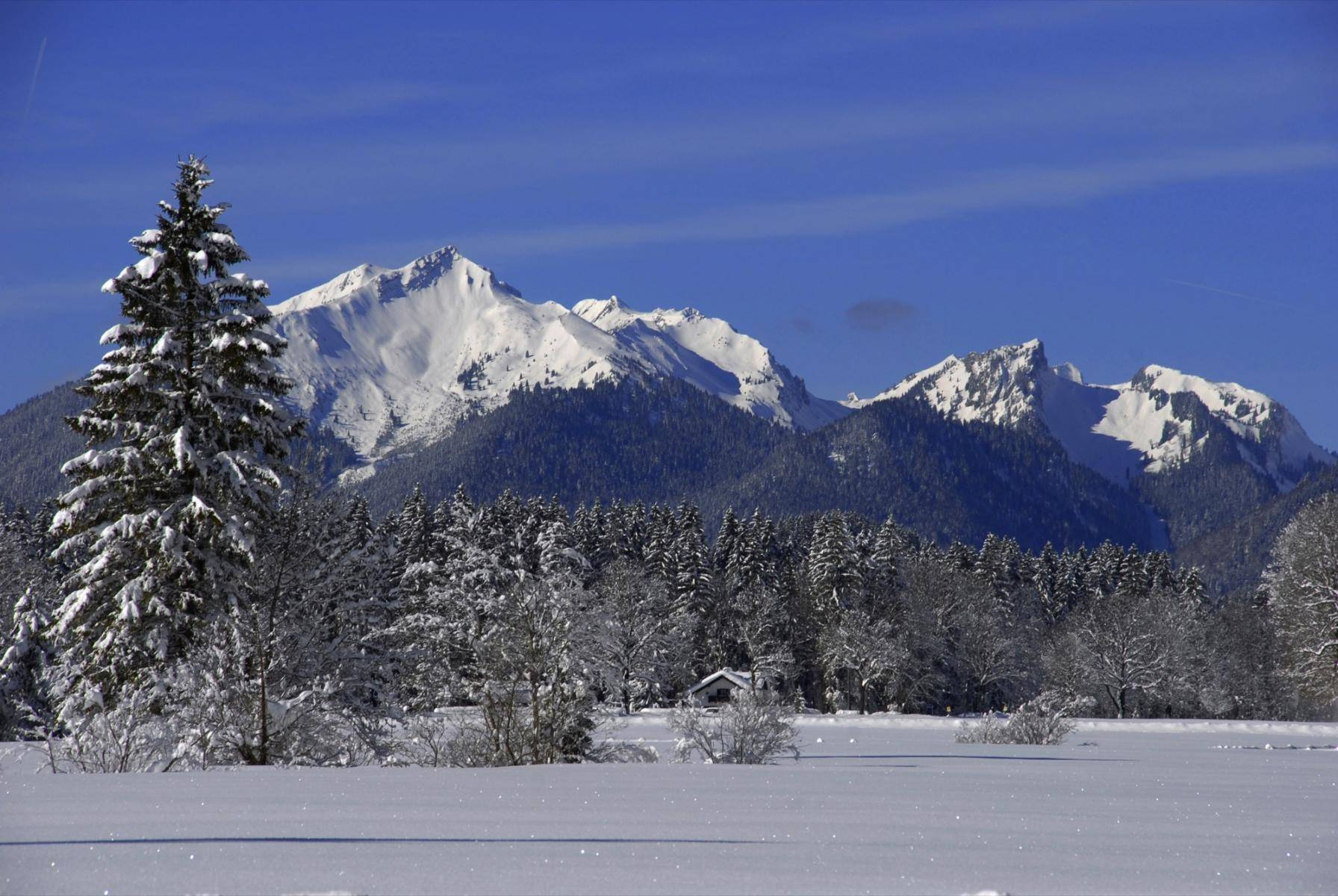 Winter im Graswangtal